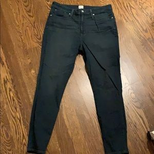 Dark grey/blue jean shorts